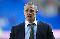 Brian Smith, London Irish Director of Rugby, during the Aviva Premiership match between London Irish and Bath Rugby at the Madejski Stadium on Saturday 22nd September 2012 (Photo by Rob Munro)