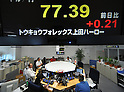 Tokyo Stock Exchange - Aug. 2