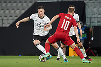 Niklas Süle (Deutschland Germany) gegen Christian Eriksen (Dänemark, Denmark) - Innsbruck 02.06.2021: Deutschland vs. Daenemark, Tivoli Stadion Innsbruck