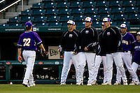 Ryan Wachholder (22) of the Western Illinois Leathernecks during a game vs. the Missouri State Bears at Hammons Field in Springfield, Missouri;  March 18, 2011.  Photo By David Welker/Four Seam Images