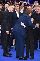 """David Furnish and Elton John<br /> arriving for the """"Rocketman"""" premiere in Leicester Square, London<br /> <br /> ©Ash Knotek  D3502  20/05/2019"""