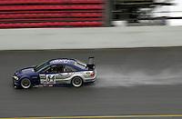 The #54 BMW in the rain..39th Rolex 24 at Daytona, 3/4 February,2001 Daytona International Speedway  Daytona Beach,Florida,USA.©F.Peirce Williams 2001 ..