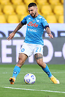 Matteo Politano of SSC Napoli<br /> during the Serie A football match between Benevento Calcio and SSC Napoli at stadio Ciro Vigorito in Benevento (Italy), October 25th, 2020. <br /> Photo Cesare Purini / Insidefoto