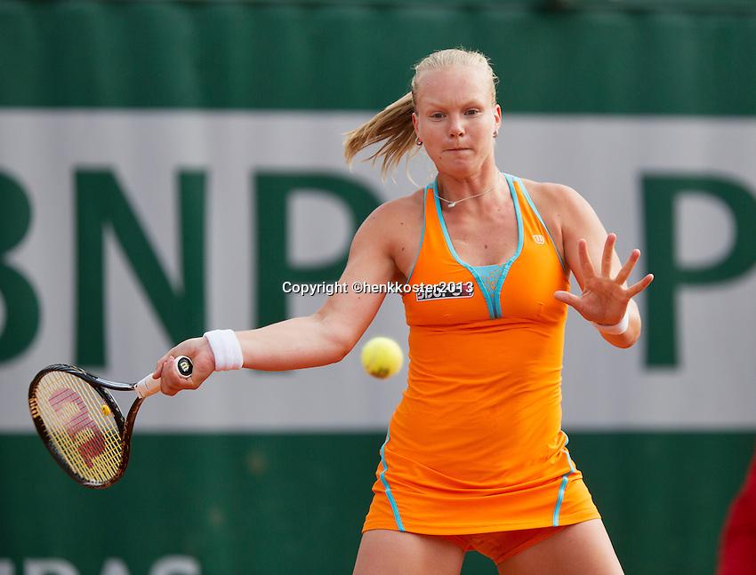 26-05-13, Tennis, France, Paris, Roland Garros, Kiki Bertens