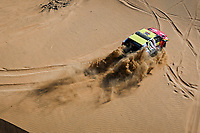 4th January 2021; Dakar Rally stage 2;  #352 Zhang Guoyu (chn), Sha He (chn), Baic, Baic ORV, Auto, action during the 2nd stage of the Dakar 2021 between Bisha and Wadi Al Dawasir, in Saudi Arabia on January 4, 2021