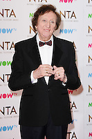 Sir Ken Dodd<br /> in the winners room at the National TV Awards 2017 held at the O2 Arena, Greenwich, London.<br /> <br /> <br /> ©Ash Knotek  D3221  25/01/2017