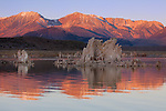 Sunrise over Mono Lake's tufas