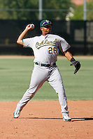 Tyler Ladendorf - Oakland Athletics 2009 Instructional League.Photo by:  Bill Mitchell/Four Seam Images..