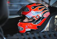 Feb 07, 2009; Daytona Beach, FL, USA; NASCAR Sprint Cup Series driver Jeff Gordon during practice for the Daytona 500 at Daytona International Speedway. Mandatory Credit: Mark J. Rebilas-