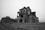 The ruins of the Darul Aman palace on the outskirts of Kabul, Afghanistan. Built in the early 1920s by King Amanullah Khan, the palace was left a gutted shell during the 1992-1994 civil war as rival mujahideen factions fought for control of the Afghan capital. Feb. 2, 2009.