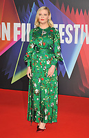 """Kirsten Dunst at the 65th BFI London Film Festival """"The Power Of The Dog"""" American Express gala, Royal Festival Hall, Belvedere Road, on Monday 11th October 2021, in London, England, UK. <br /> CAP/CAN<br /> ©CAN/Capital Pictures"""
