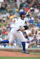 Will Ohman of the Chicago Cubs vs. the San Diego Padres: June 18th, 2007 at Wrigley Field in Chicago, IL.  Photo by Mike Janes/Four Seam Images