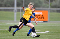 Katie Barrott of Capital during the Handa Women's Premiership - Capital Football v Southern United at Petone Memorial Park, Wellington on Saturday 7 November 2020.<br /> Copyright photo: Masanori Udagawa /  www.photosport.nz