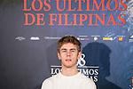 "Patrick Criado attends to the presentation of the spanish film "" 1898. Los ultimos de Filipinas"" at Naval Museum in Madrid, Spain. November 28, 2016. (ALTERPHOTOS/BorjaB.Hojas)"