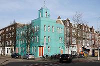 Nederland  Amsterdam - 2021   Amsterdam Noord.  El Mouhssinine Moskee in Amsterdam-Noord.     Foto Berlinda van Dam / HH / ANP.