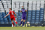 Hibs keeper Ofir Marciano gutted as an own goal goes past him for Aberdeen's winner