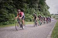 Lars Bak (DEN/Lotto-Soudal)<br /> <br /> Ster ZLM Tour (2.1)<br /> Stage 4: Hotel Verviers > La Gileppe (Jalhay)(190km)