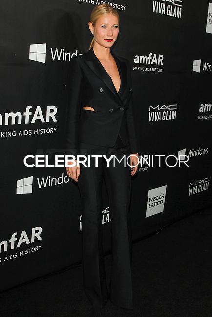 HOLLYWOOD, LOS ANGELES, CA, USA - OCTOBER 29: Gwyneth Paltrow arrives at the 2014 amfAR LA Inspiration Gala at Milk Studios on October 29, 2014 in Hollywood, Los Angeles, California, United States. (Photo by Celebrity Monitor)