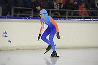 SCHAATSEN: HEERENVEEN, 13-10-2019, IJsstadion Thialf, Clubwedstrijd, ©foto Martin de Jong