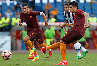 Calcio, Serie A: Roma vs Udinese. Roma, stadio Olimpico, 20 agosto 2016.<br /> Roma's Diego Perotti scores on a penalty kick during the Italian Serie A football match between Roma and Udinese at Rome's Olympic Stadium, 20 August 2016. Roma won 4-0.<br /> UPDATE IMAGES PRESS/Riccardo De Luca