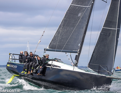 Pete Smyth's Sun Fast 3600 Searcher (National YC) is fresh out of the box, and fancied to be in the frame in the race to Dingle
