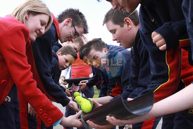 Scoil Ui Mhuiri Sports Day..Oisin Howell..Photo: Fran Caffrey/www.newsfile.ie...