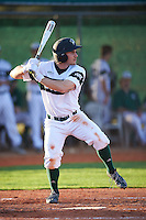 Chicago State Cougars center fielder Matt Paciello (34) at bat during a game against the Georgetown Hoyas on March 3, 2017 at North Charlotte Regional Park in Port Charlotte, Florida.  Georgetown defeated Chicago State 11-0.  (Mike Janes/Four Seam Images)