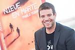 Writter Pablo Tebar, winner of Minotauro Award pose to media at Sitges Film Festival in Barcelona, Spain October 10, 2017. (ALTERPHOTOS/Borja B.Hojas)
