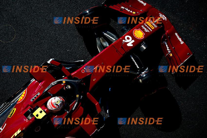 LECLERC Charles (mco), Scuderia Ferrari SF1000, action during the Formula 1 Pirelli Gran Premio Della Toscana Ferrari 1000, 2020 Tuscan Grand Prix, from September 11 to 13, 2020 on the Autodromo Internazionale del Mugello, in Scarperia e San Piero, near Florence, Italy -  <br /> Mugello 13-09-2020 Formula 1 Gp Toscana<br /> Photo FLORENT GOODEN/DPPI/Panoramic/Insidefoto <br /> ITALY ONLY