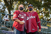 STANFORD, CA - MAY 27: Fans before a game between Oregon State University and Stanford Baseball at Sunken Diamond on May 27, 2021 in Stanford, California.