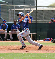 Thomas Saggese - Texas Rangers 2021 spring training (Bill Mitchell)