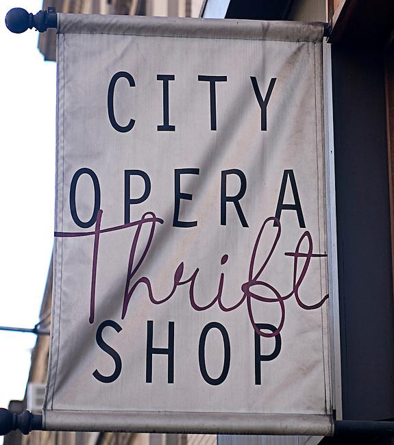 City Opera Trift Shop, Gramercy Flatiron, New York, New York