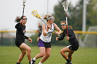 20 June 2006: Anna Brown during Stanford's 17-9 loss to Northwestern in the first round of the 2006 NCAA Lacrosse Championships in Evanston, IL. Stanford made it to the NCAA's for the first time in school history.