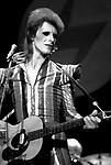 DAVID BOWIE 1973 Ziggy Stardust <br /> © Chris Walter