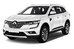 2018 Renault Koleos Intens 4wd 5 Door SUV angular front stock photos of front three quarter view
