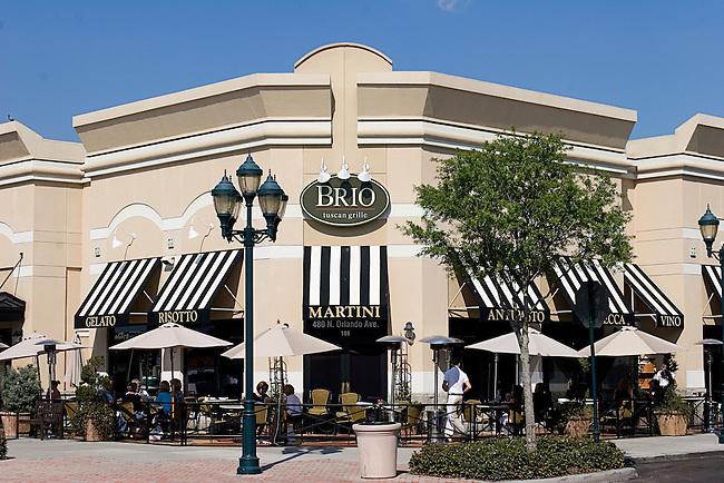 Brio Tuscan Grille, Winter Park, Orlando, Florida