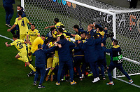 Villarreal s players celebrate after winning the UEFA Europa League final <br /> Gdansk 26/05/2021<br /> Europa League Final <br /> Villarreal Vs Manchester United<br /> Photo Pablo Morano/Xinhua/Imago/Insidefoto