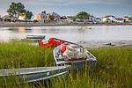 Summer morning in Winthrop, Massachusetts, USA