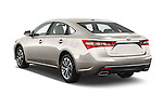 Car pictures of rear three quarter view of 2018 Toyota Avalon XLE 4 Door Sedan Angular Rear