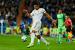 Carlos Henrique Casimiro of Real Madrid and XXX of CD Leganes during La Liga match between Real Madrid and CD Leganes at Santiago Bernabeu Stadium in Madrid, Spain. October 30, 2019. (ALTERPHOTOS/A. Perez Meca)