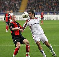 Luca Toni (Bayern) gegen Patrick Ochs (Eintracht)<br /> Eintracht Frankfurt vs. FC Bayern Muenchen, Commerzbank Arena<br /> *** Local Caption *** Foto ist honorarpflichtig! zzgl. gesetzl. MwSt. Auf Anfrage in hoeherer Qualitaet/Aufloesung. Belegexemplar an: Marc Schueler, Am Ziegelfalltor 4, 64625 Bensheim, Tel. +49 (0) 6251 86 96 134, www.gameday-mediaservices.de. Email: marc.schueler@gameday-mediaservices.de, Bankverbindung: Volksbank Bergstrasse, Kto.: 151297, BLZ: 50960101