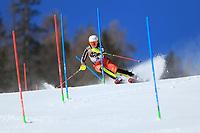 20th February 2021; Cortina d'Ampezzo, Italy; FIS Alpine World Ski Championships, Women's Slalom   Laurence St-Germain (CAN)