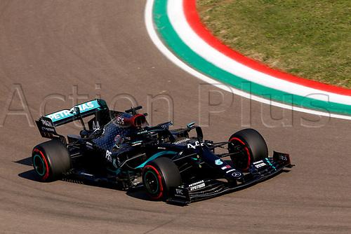 Motorsports: FIA Formula One World Championship, WM, Weltmeisterschaft 2020, Grand Prix of Emilia Romagna, 44 Lewis Hamilton GBR, Mercedes-AMG Petronas Formula One Team takes 2nd on pole in Imola Italy