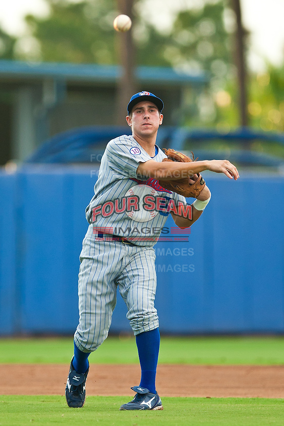 Elliot Soto #6 of the Daytona Cubs during game 3 of the Florida State League Championship Series against the St. Lucie Mets at Digital Domain Park on Spetember 11, 2011 in Port St. Lucie, Florida. Daytona won the game 4-2 to win the Florida State League Championship.  Photo by Scott Jontes / Four Seam Images