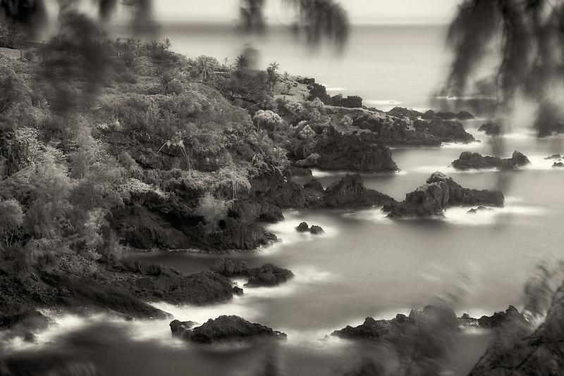 Coastline at, Kipahulu Point Park, Maui, Hawaii