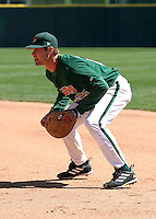 April 21, 2005:  First Baseman Jeff Liefer of the Buffalo Bisons during a game at Dunn Tire Park in Buffalo, NY.  Buffalo is the International League Triple-A affiliate of the Cleveland Indians.  Photo by:  Mike Janes/Four Seam Images