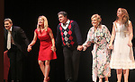 "Curtain Call: Grant Aleksander - Cynthia Watros - Michael O'Leary - Tina Sloan - Emma Gilliland (daughter of Cynthia Watros) - Guiding Light's Michael O'Leary author of ""Breathing Under Dirt"" - full play - had its world premier on August 13 and 14, 2016 at the Ella Fitzgerald Performing Arts Center, University of Maryland Eastern Shore, Princess Anne, Maryland  (Photo by Sue Coflin/Max Photos)"