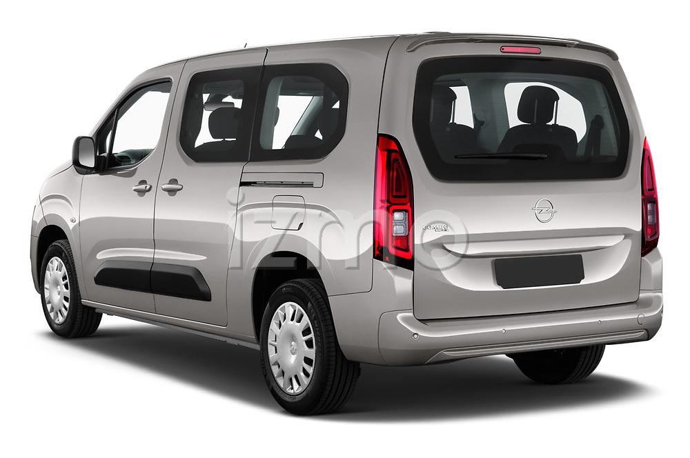 Car pictures of rear three quarter view of 2021 Opel Combo-Life XL-Edition 5 Door Minivan Angular Rear