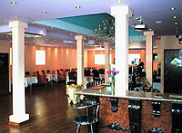 """COPY BY TOM BEDFORD<br /> Pictured: Interior view of the Prince of Bengal restaurant <br /> Re: Chef Kamrul Islam who attacked a client with chilli powder is due to appear before Merthyr Tydfil Magistrates Court.<br /> David Evans was at the Prince of Bengal restaurant on Saturday night when the incident took place.<br /> The 46-year-old was out for dinner with his wife Michelle when they were asked by a waiter if they were enjoying their curry.<br /> The couple said they told the waiter their meal was """"tough and rubbery"""" and he passed the complaint onto the head chef.<br /> Michelle said chilli powder was then thrown into her husband's eyes and he was taken to hospital."""