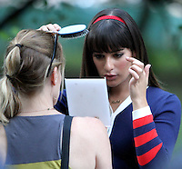 On The Set Of Glee NY